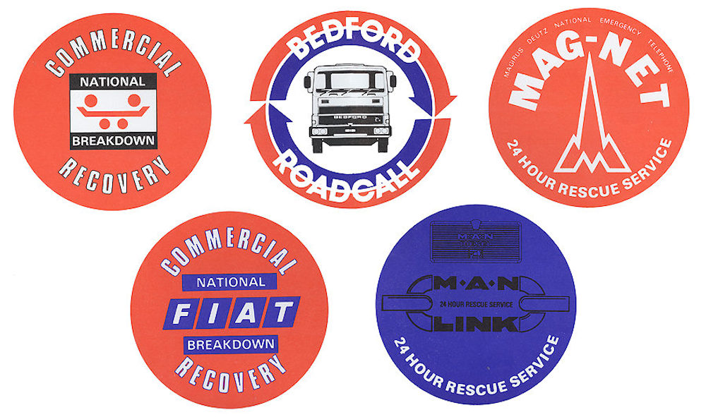 Logos of some commercial recovery clubs
